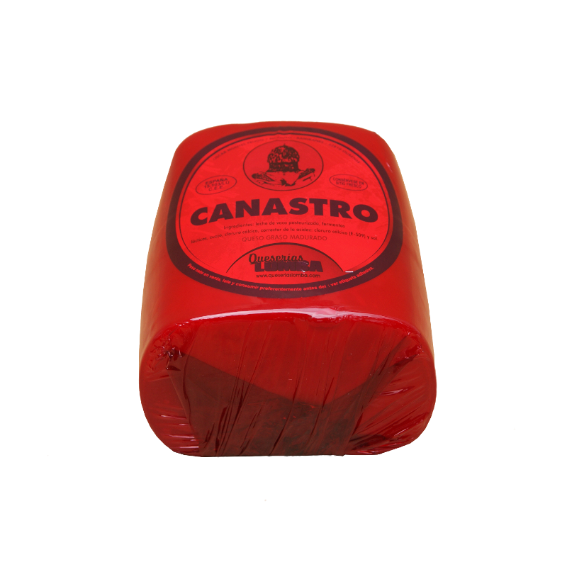 Queso de barra Canastro
